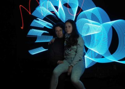 lightpainting par le photoclubmouansois